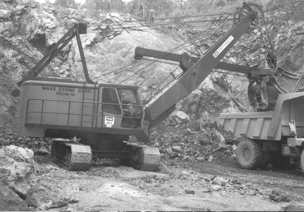 1974 – Moncure Quarry Opening