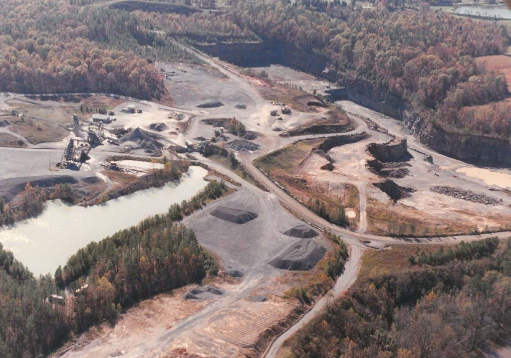 1988 – Moncure Quarry Reopening