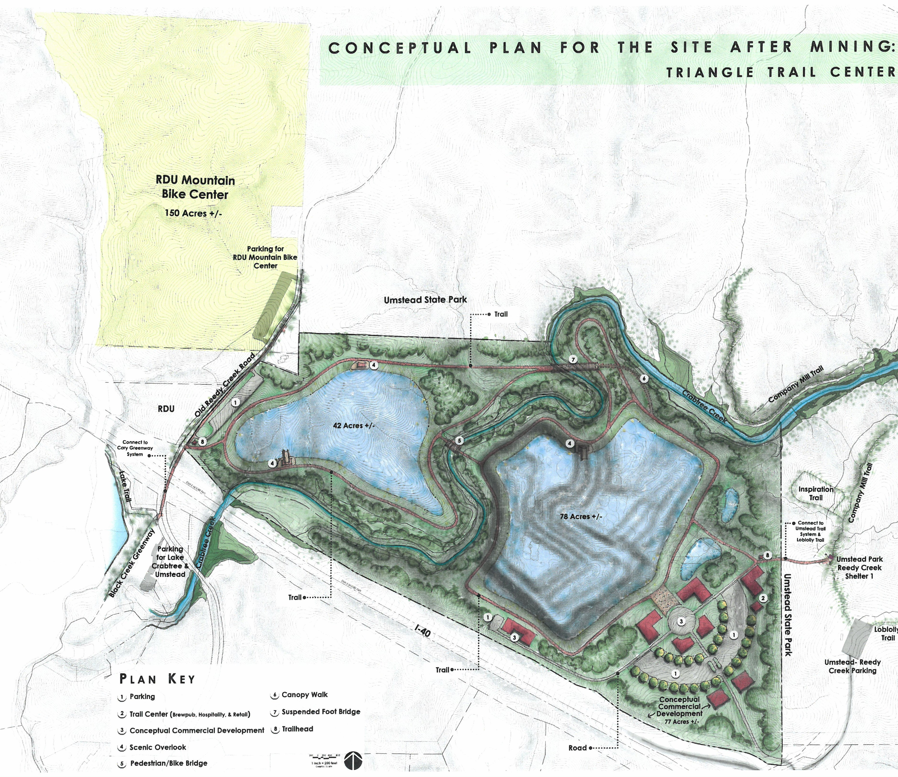 Approval Of Wake Stone Corporation Lease To Provide Significant Recreational And Economic Benefits For The Triangle