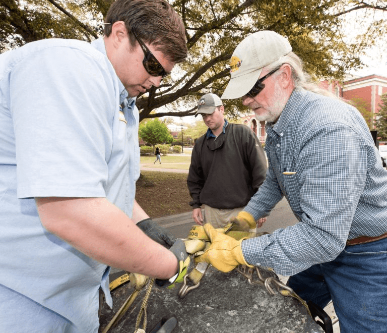 300 Million-Year-Old Boulders Donated To ECU