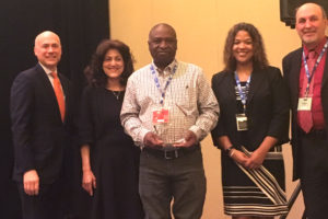 "Albert O'Neal Receives ""40 Year Safe Miner Award"" From U.S. Department Of Labor"