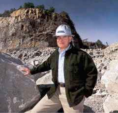 How Does A Small, Family Owned Quarry Company Compete With Giant Corporations? It's The Pits.